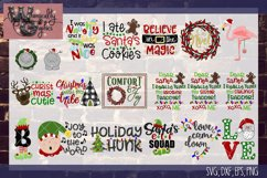 2018 Ultimate Christmas Bundle SVG, DXF, PNG, EPS Comm & Per Product Image 3