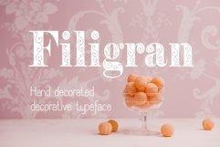 Filigran font Product Image 4