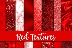 Red Textures Digital Paper Product Image 1