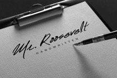 Mr. Roosevelt Handwritten Product Image 1