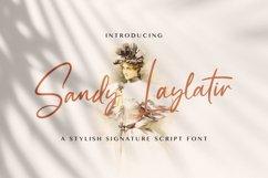 Sandy Lailyatir - Handwritten Font Product Image 1