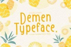 Web Font Demen Product Image 6