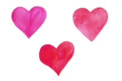 Valentine's Day set of watercolor Product Image 3