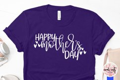Happy mother's day - Mother SVG EPS DXF PNG Cut File Product Image 3