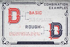 Dacota Layered Typeface & Extras Product Image 4