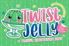 Web Font - Twist Jelly Product Image 1