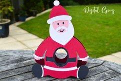 Santa, Christmas egg holder design SVG / DXF / EPS files Product Image 4