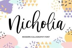 Nicholia Modern Calligraphy Font Product Image 1