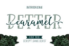 Better Caramel // Font Trio Product Image 1
