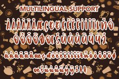 Caramel latte - Bold Handwritten Font Product Image 8