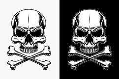 Skull and crossbones vector illustration Product Image 3