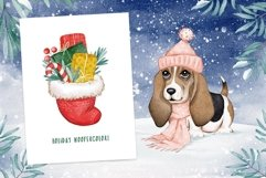 Woof Christmas Watercolor Product Image 2