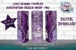 20oz| 12oz |Sublimation Skinny Tumbler Wrap | Design Bundle Product Image 4