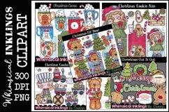 Sweet Christmas -Huge Christmas Clipart Bundle Product Image 1