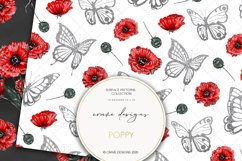 Poppy Seamless Patterns Product Image 3