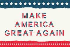 America otf color font Product Image 5