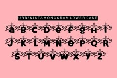 Urbanista Handlettered Monogram Font Product Image 4