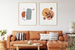 Boho Abstract Wall Print, Abstract Wall Art, Minimal Poster Product Image 2
