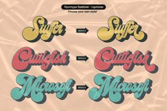 Midway | Retro Script Font Product Image 5