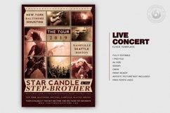 Live Concert Flyer Template V2 Product Image 2
