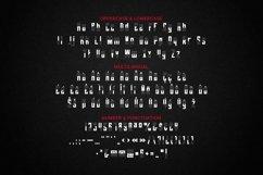 Web Font BLACKCARD Font Product Image 4