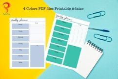 Weekly Planner Printable To Do List Product Image 2