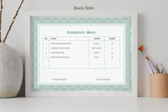 Guilloche Certificate Double-sided A4 Product Image 2