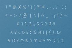 Broken handwritten font in ttf, otf Product Image 3