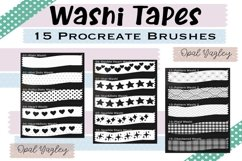 Washi Tapes Procreate Brushes / Craft and Scrapbook Brushes Product Image 4