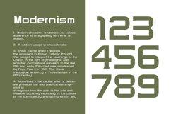Modernhead Serif Typeface | Font Product Image 3