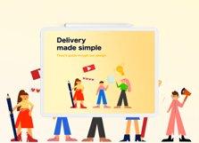 Online Shopping Web Illustrations Product Image 3