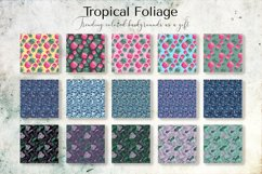 Tropical Foliage Watercolor Set Product Image 15
