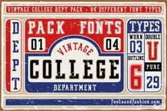 Vintage College Dept_Pack Product Image 1