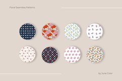 Floral patterns. Vector collection of abstract flowers. Product Image 2