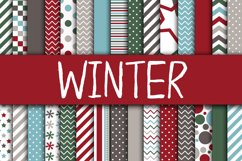 Christmas Bundle - Includes Over 200 Digital Papers Product Image 3