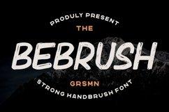 Bebrush - Hand Brush Font Product Image 1