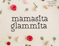 Mamasita Glammita SVG, Instant Download Product Image 5