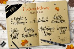 Watercolor autumn leaves Product Image 5