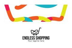 Endless Shopping - Infinity Symbol Linear Stock Logo Product Image 3