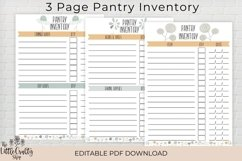 Kitchen Inventory Bundle - Editable Product Image 2