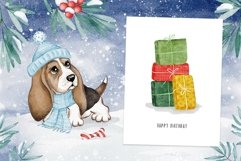 Woof Christmas Watercolor Product Image 3