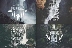 Waterfall. Handcrafted Font (+bonus) Product Image 2