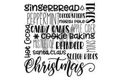 Christmas Subway Art SVG Product Image 3