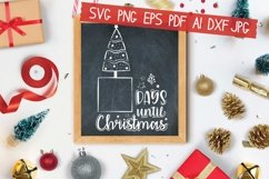 Days Until Christmas Svg Product Image 1