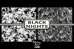 Black Nights - 10 Digital Papers/Backgrounds Product Image 3