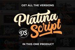 Platina Script / Layered Fonts Product Image 1