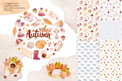 Autumn Vibes Watercolor Collection Clipart Product Image 1