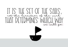 Sailboat - A Fun Handwritten Font Product Image 2