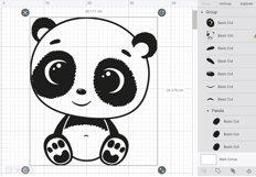 Cute baby panda SVG, PNG, EPS Product Image 4