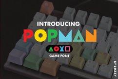 Popman Game Font Product Image 1